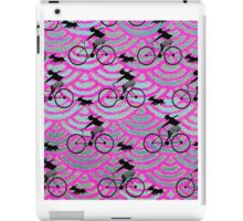 Bicycling Girl  iPad Case/Skin