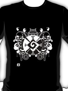Hunab Ku Updated No Werdz 2011 T-Shirt