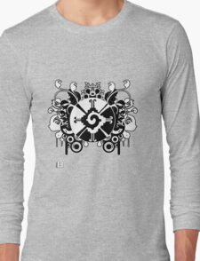 Hunab Ku Updated No Werdz 2011 Long Sleeve T-Shirt