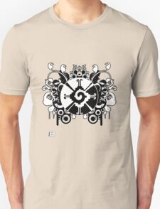 Hunab Ku Updated No Werdz 2011 Unisex T-Shirt