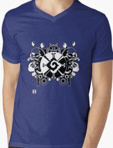 Hunab Ku Updated No Werdz 2011 Mens V-Neck T-Shirt