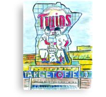 Target Field Canvas Print