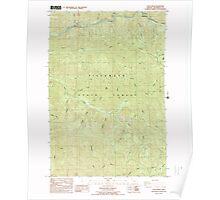 USGS Topo Map Oregon Cook Creek 279428 1984 24000 Poster