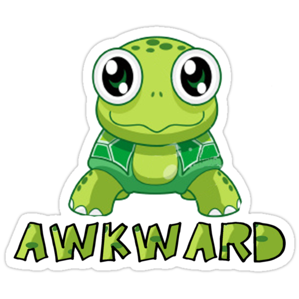 Awkward Turtle by brodhe