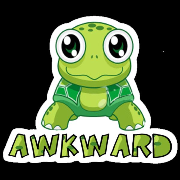 Awkward Turtle by brodhe