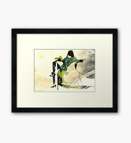 CELESTIAL Framed Print