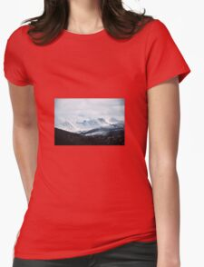 Mountains Womens Fitted T-Shirt