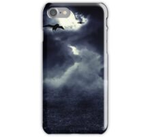 Moon over Field iPhone Case/Skin