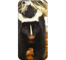 Angry skunk iPhone Case/Skin
