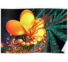 A Fractal A Day Keeps the Doctor Away Banner Poster