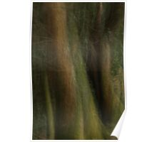 abstract forest Poster
