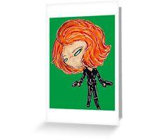 widow Greeting Card