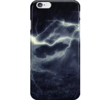 Storm over Field iPhone Case/Skin