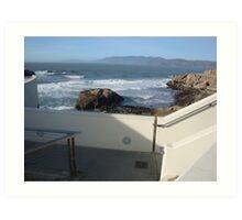 ocean beach,san francisco Art Print
