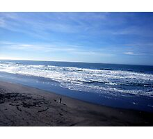 another view of ocean beach Photographic Print