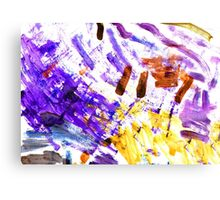 Color painting Canvas Print