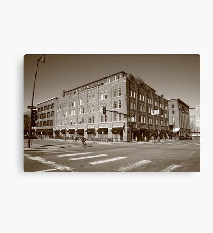 Denver - LoDo District Canvas Print