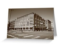 Denver - LoDo District Greeting Card