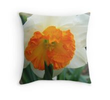 Daffodil Glory Throw Pillow