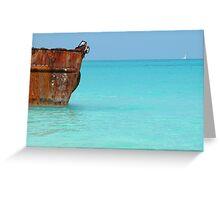 Bahamas seascape Greeting Card