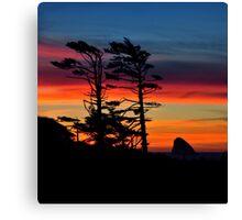 WIND SWEPT SUNSET Canvas Print