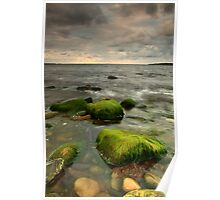 atlantic ocean in ireland Poster
