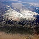 The last mountain range on the east side of the Rockies. by barnsis