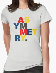 ASYMMETRY Womens Fitted T-Shirt