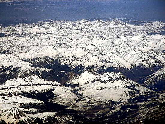 The Rocky Mountains in the USA  by barnsis