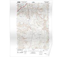 USGS Topo Map Oregon Oregon City 20110826 TM Poster