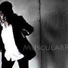 MuscularRose Postcard#1 by Tania Rose