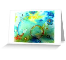 Embrionic Universe Greeting Card