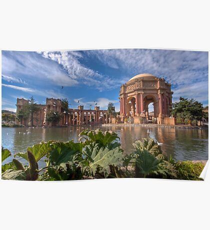 Palace of Fine Arts, San Francisco Poster