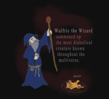 Wulfric the Wizard by TheBitGeek