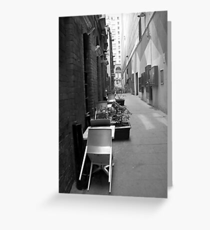 The Laneway Connection Greeting Card
