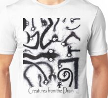 creatures from the drain (all) Unisex T-Shirt