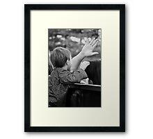 High Five... Framed Print