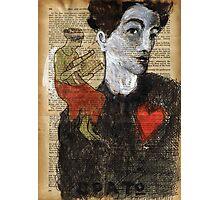 When Egon met  Erato.... Photographic Print