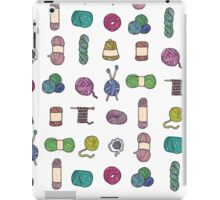Balls of Yarn - Knitting Watercolor iPad Case/Skin