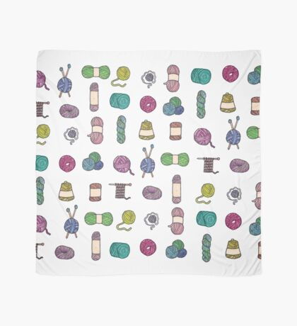 Balls of Yarn - Knitting Watercolor Scarf