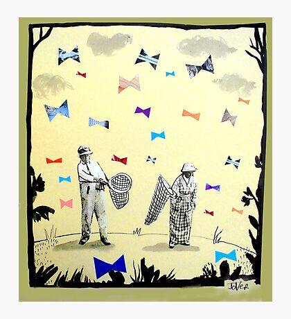 butterflies & bowties Photographic Print