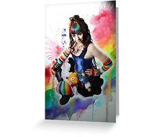 A Dak Rainbow Brite - Kalli McCandless Greeting Card