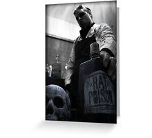 Mad Scientist Rat Poison - Jason Collier Greeting Card
