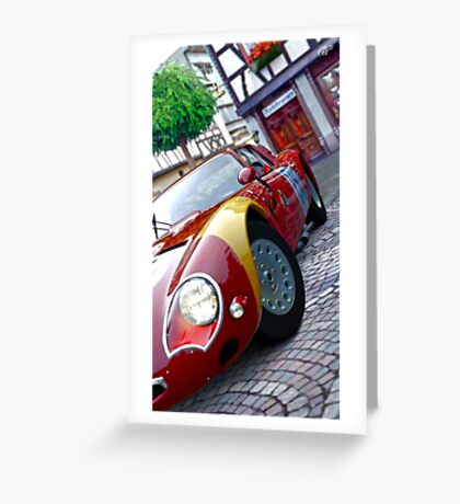 Alfa Romeo HDRI from GT5 Greeting Card
