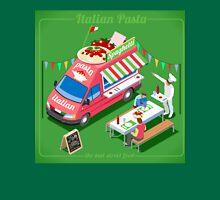 Italian Pasta Food Truck Unisex T-Shirt