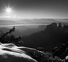 Winter Panorama by David Pinzer