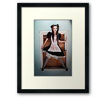 Dark Alice - Kalli McCandless Framed Print