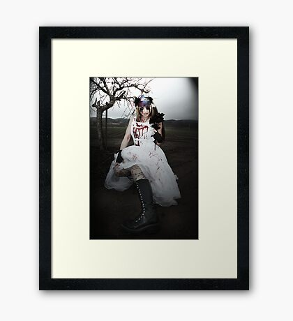 Killer Bride - Kalli McCandless Framed Print