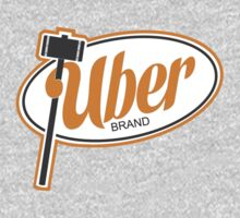 Uber Brand Logo Kids Clothes