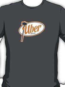 Uber Brand Logo T-Shirt